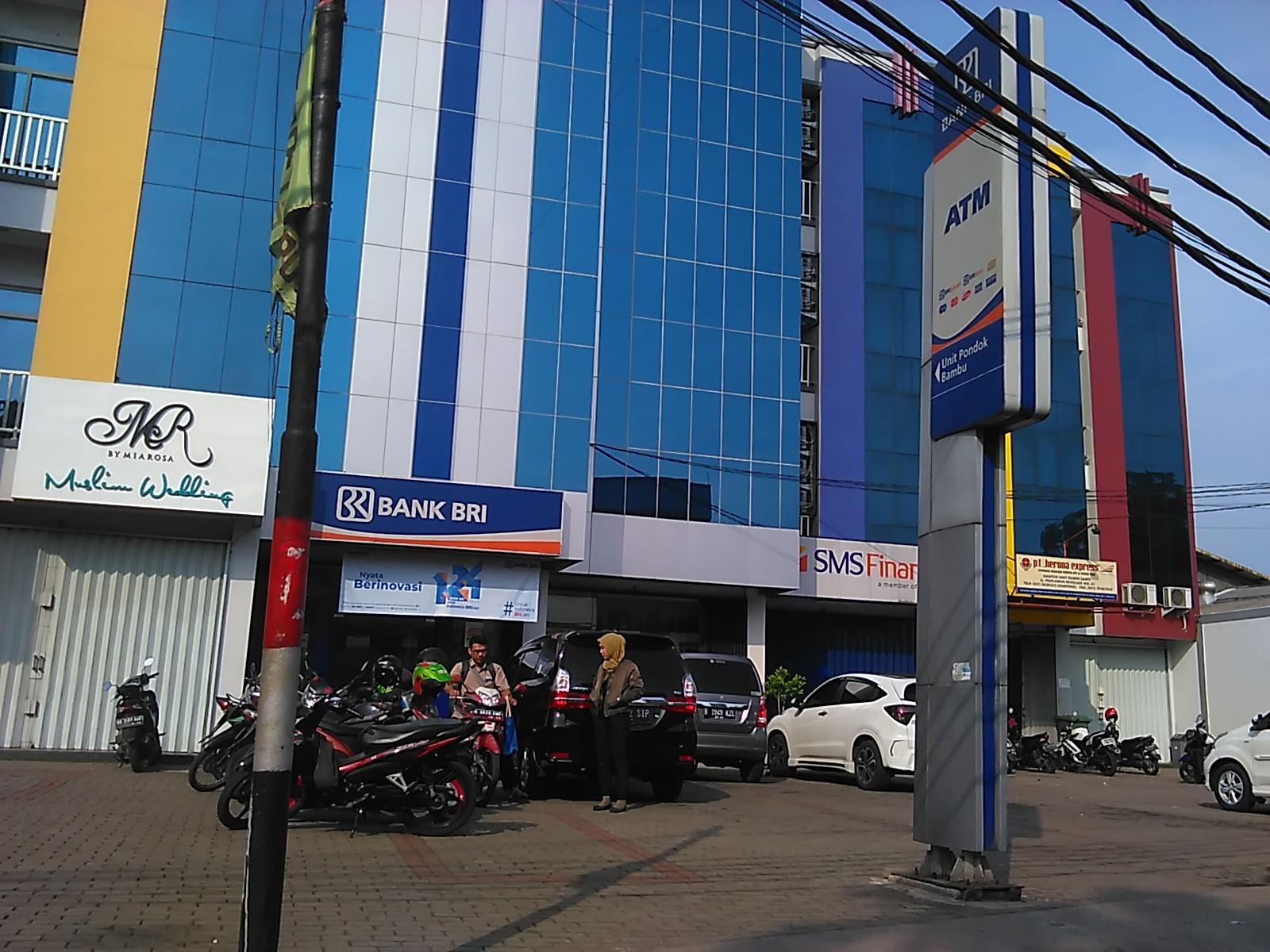 Bank Bri Unit Pondok Bambu Jakarta Timur Indonesia