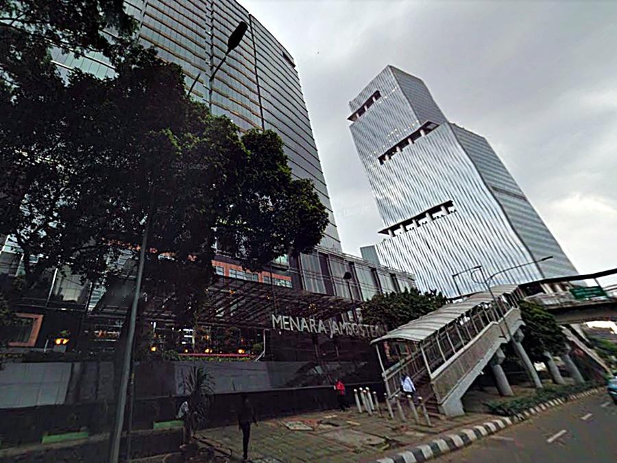 Menara Jamsostek Jakarta Selatan Indonesia